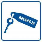 Recepcja - znak informacyjny - RA026