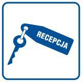 Recepcja - znak informacyjny - RA026 - Biurowiec – jakie oznaczenia są konieczne?
