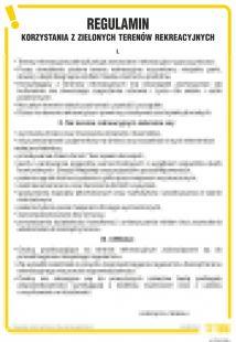 Regulamin korzystania z zielonych terenów rekreacyjnych - IAT18