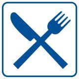 Restauracja, stołówka, jadłodajnia - znak informacyjny - RA027 - Stacja benzynowa – jak powinna być oznaczona?