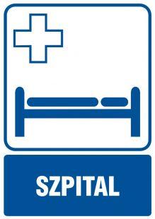 RF001 - Szpital - znak informacyjny