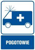 RF003 - Pogotowie - znak informacyjny - Placówki służby zdrowia – oznaczenia