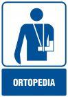 RF013 - Ortopedia - znak informacyjny