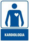 RF018 - Kardiologia - znak informacyjny - Placówki służby zdrowia – oznaczenia