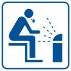 Sauna - znak informacyjny - RA024