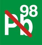 SB006 - Paliwo bezołowiowe - 98 oktanów PB98 - znak stacje benzynowe - Stacja benzynowa – jak powinna być oznaczona?