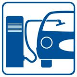 SB009 - Odkurzacz - znak stacje benzynowe - Stacja benzynowa – jak powinna być oznaczona?