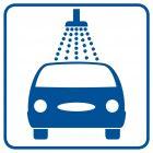 SB010 - Myjnia - znak stacje benzynowe
