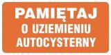 SB011 - Pamiętaj o uziemieniu autocysterny - znak stacje benzynowe - Stacja benzynowa – jak powinna być oznaczona?
