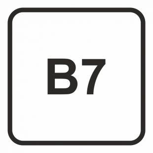 SB025 - B7 - Olej napędowy- maksymalna zawartość biodiesla w paliwie dopuszczalna do użycia w pojeździe 7%