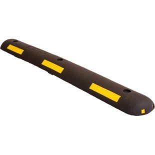 Separator, ogranicznik odbojnik parkingowy 100x13x4,5 cm - PCV, czarny