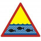 Sieci rybackie - znak, kąpieliska - OH009