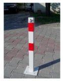 Słupek metalowy, stopa, 60cm, parking, chodnik, blokujący - Blokady parkingowe – przepisy