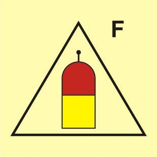 Stanowisko zdalnego uwalniania (F-piana) - znak morski - FI063