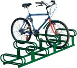 Stojak rowerowy dwupoziomowy 6-miejscowy - Mała architektura miejska