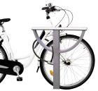 Stojak rowerowy Lizbona - mocowanie do podłoża
