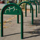 Stojak rowerowy Trombone - oznakowanie rowerem - Mała architektura miejska