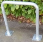 Stojak rowerowy zewnętrzny miejski typu bramka - przykręcana do podłoża, 4 kotwy
