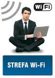 Strefa wi-fi 1 - znak informacyjny - PC505 - Lokal gastronomiczny – o jakich znakach należy pamiętać?