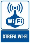 Strefa Wi-Fi - znak informacyjny - RB032