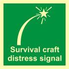Sygnał niebezpieczeństwa sprzętu ratowniczego - znak morski - FB020