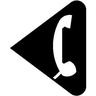 Symbol słuchawki telefonicznej U-1d