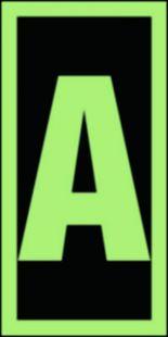 Symbol stacji ewakuacyjnych A - znak morski - FE011