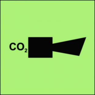 Syrena instalacji CO2 - znak morski - FA007