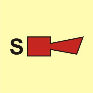 Syrena tryskaczowa - znak morski - FA042