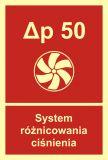System różnicowania ciśnienia - znak przeciwpożarowy ppoż - BB018 - Oddymianie klatek schodowych