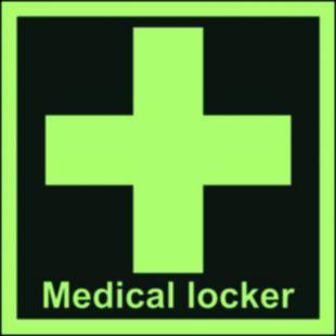 Szafka z lekarstwami - znak morski - FB028