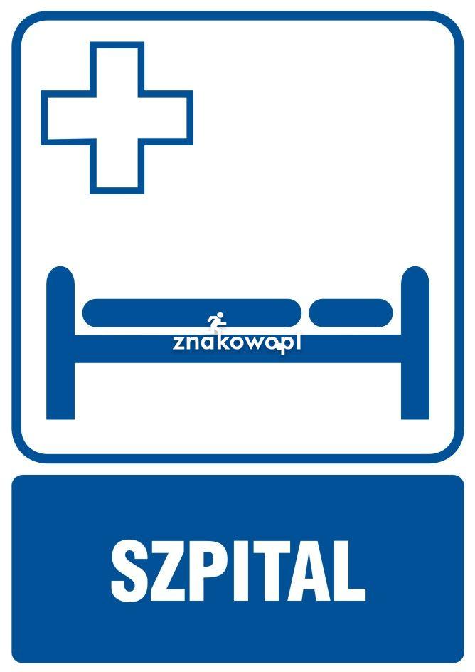 Szpital - Placówki służby zdrowia – oznaczenia