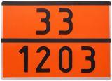 Tablica ADR 30x40cm - numeryczna - dowolna numeracja - Etykiety CLP – transport materiałów niebezpiecznych