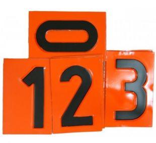 Tablica ADR numeryczna wymienna - cyfra 12,5x8cm