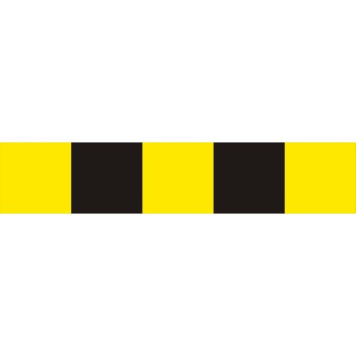 Tablica do oznaczania ograniczeń (skrajni) pionowej drogi U-9c metalowa - Urządzenia bramowe