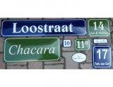 Tablica hipoteczna tabliczka adresowa - nazwa i numer ulicy - blacha emaliowana - Tabliczka z numerem nieruchomości a przepisy: jak prawidłowo oznakować nowy dom?