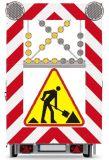 Tablica ostrzegawcza U-26 ze znakiem A-14 - Oznakowanie na czas robót drogowych