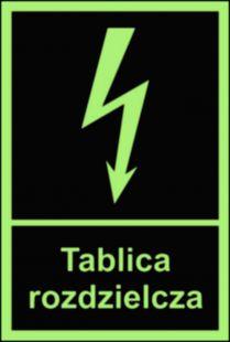 Tablica rozdzielcza - znak przeciwpożarowy ppoż - BC009