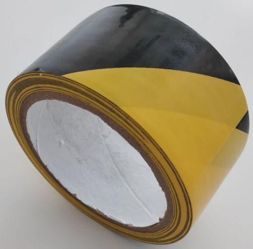 Taśma samoprzylepna na podłogę 5/10 cm x 33m - żółto-czarna - Trasy ruchu, przeszkody i niebezpieczne miejsca – znaki