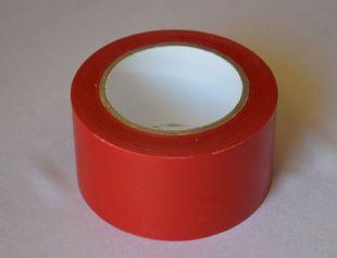 Taśma samoprzylepna na podłogę 5cm x 33m - czerwona