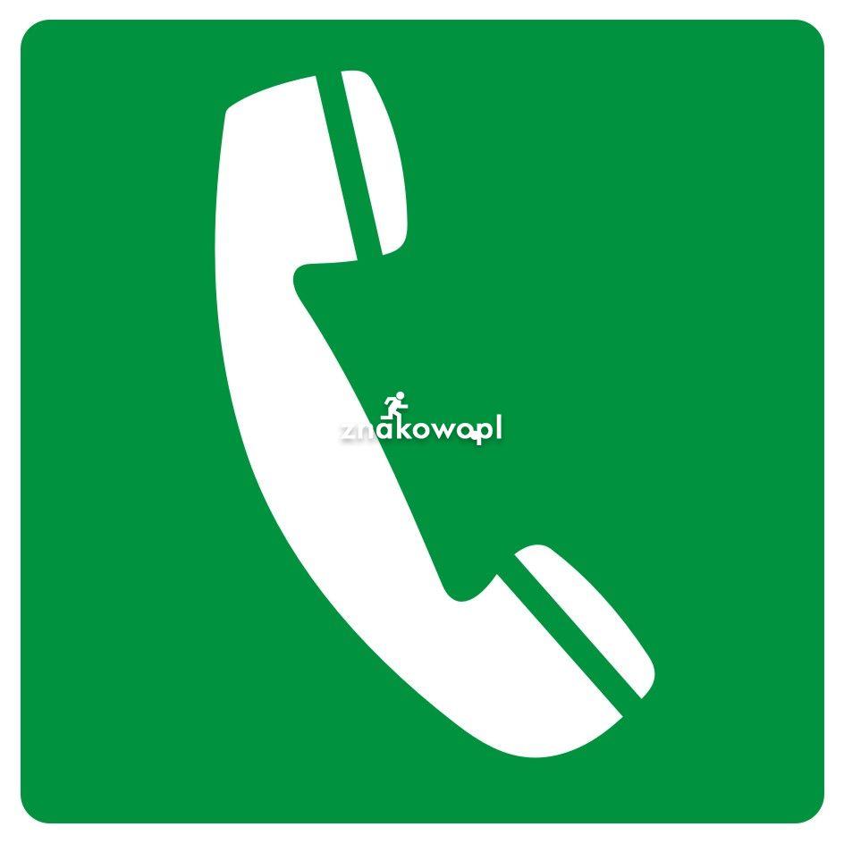 Telefon awaryjny - Plac budowy – znaki i tablice
