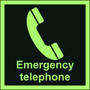 Telefon awaryjny - znak morski - FB031