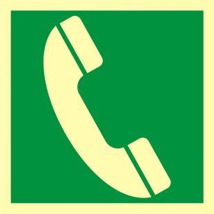 Telefon awaryjny - znak morski - FB061