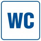 Toaleta 1 - znak informacyjny - RA013