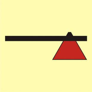 Topór strażacki ciężki - znak morski - FA024