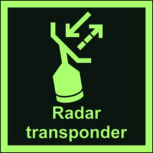 Transponder poszukiwawczo-ratunkowy (SART) - znak morski - FB019