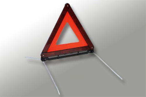 Trójkąt ostrzegawczy - Wyposażenie samochodu – o czym trzeba pamiętać?
