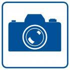 Tu wolno fotografować - znak informacyjny - RA084