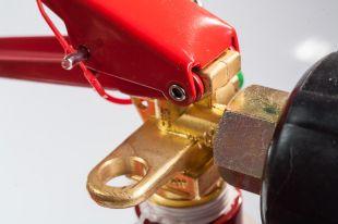 Urządzenie gaśnicze sprzętu elektronicznego 2 kg CO2 (UGSE-2X BC)