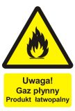 Uwaga! Gaz płynny - produkt łatwopalny - Obrót wyrobami pirotechnicznymi – obowiązki pracodawcy